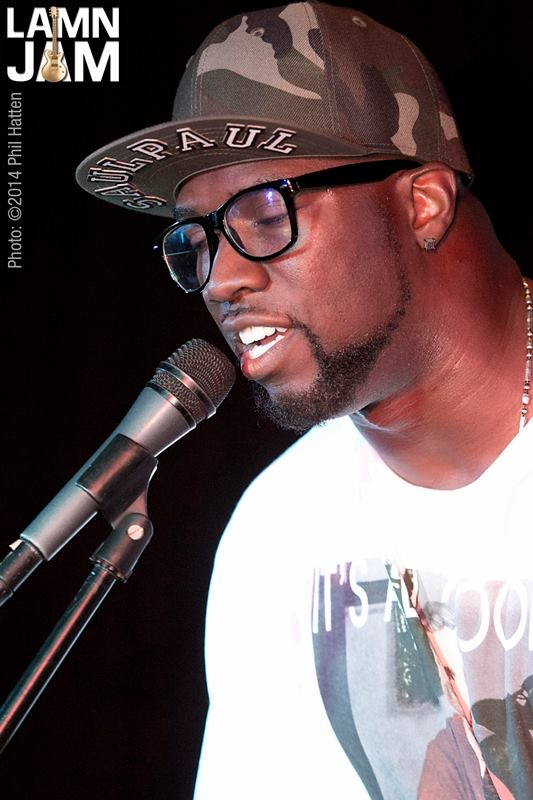 SaulPaul Performing at LAMN Jam